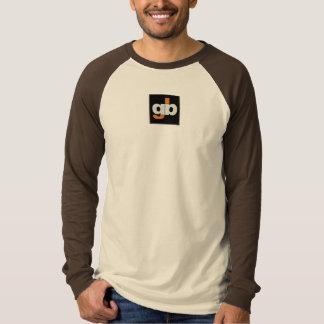 長い袖のカジュアルなワイシャツ- GrassBurner Tシャツ