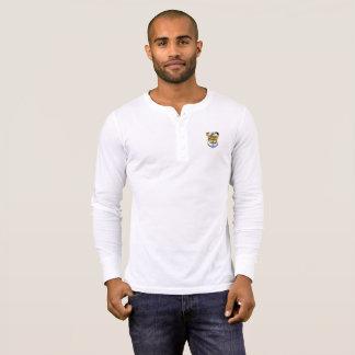 長い袖の人のユニークなワイシャツ Tシャツ
