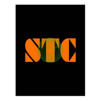 長いSTCのレーダー ポストカード