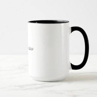 長くコーヒー・マグはA$APの住んでいます マグカップ