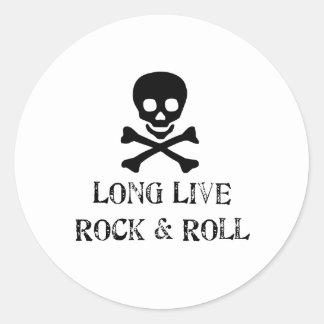 長く石及びロールは住んでいます ラウンドシール