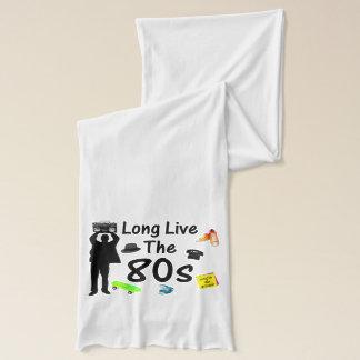 長く80年代文化は住んでいます スカーフ