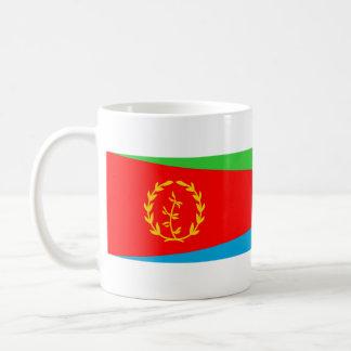 長のエリトリアの国旗の国家の記号 コーヒーマグカップ