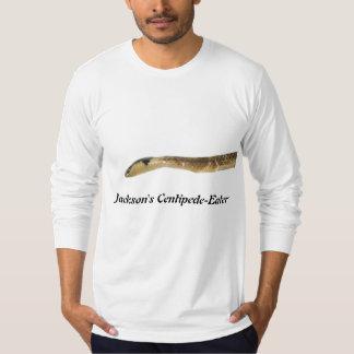 長のジャクソンのムカデ食べる人のアメリカの服装 Tシャツ
