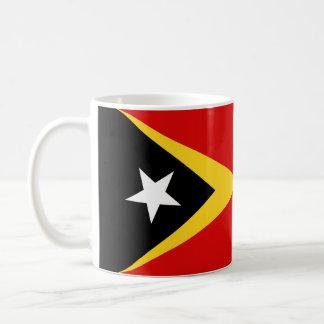 長の東部チモール島の国旗の国家の記号 コーヒーマグカップ