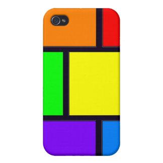 長方形および正方形 iPhone 4/4S ケース