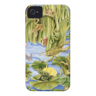 長方形のカエル Case-Mate iPhone 4 ケース