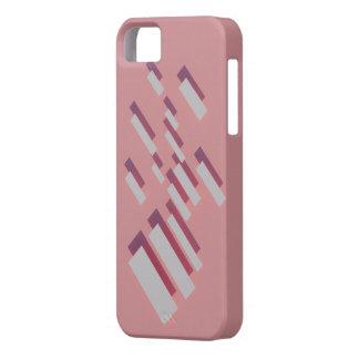 長方形のピンク iPhone SE/5/5s ケース