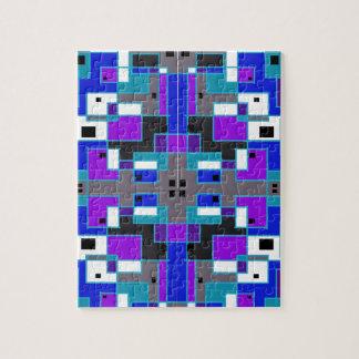 長方形の万華鏡のように千変万化するパターン ジグソーパズル