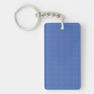 長方形の(両面の) KeyChainの芸術NavinJoshi 長方形(両面)アクリル製キーホルダー