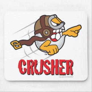 長時間のドライブWinnのための粉砕機の漫画のゴルフ・ボール マウスパッド
