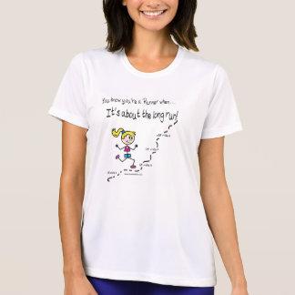 長期間の女性T Tシャツ