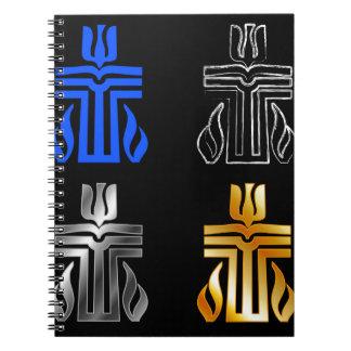 長老派の宗教の記号 ノートブック