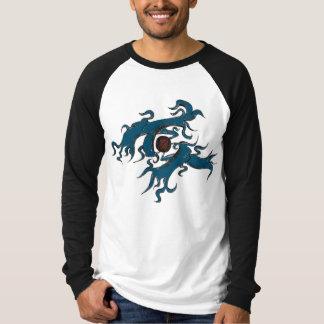 長袖のデザイン Tシャツ