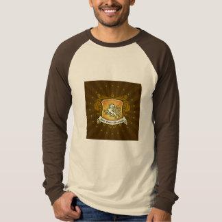 長袖のルートビアSCRのTシャツ Tシャツ