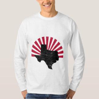 長袖ヴィンテージのテキサス州の火炎信号 Tシャツ