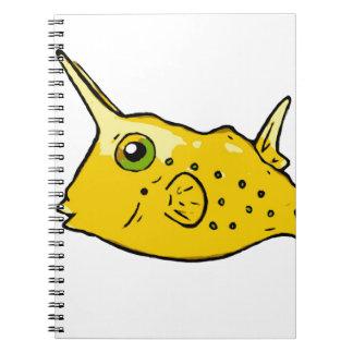 長角牛のCowfish ノートブック