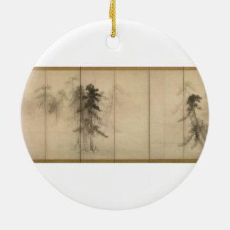 長谷川Tohakuの16世紀までに松の木 セラミックオーナメント
