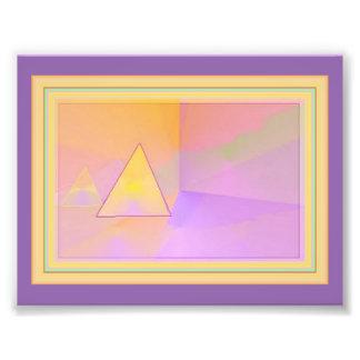 門脈の抽象美術 フォトプリント