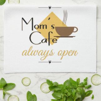 開いたお母さんのカフェ常に キッチンタオル