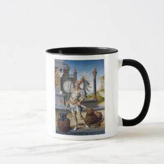 開いた景色の装甲のSt.エイドリアン マグカップ