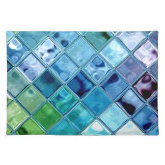 開いた海のランチョンマットはアメリカでなされる綿を~woven ランチョンマット