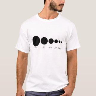 開き Tシャツ