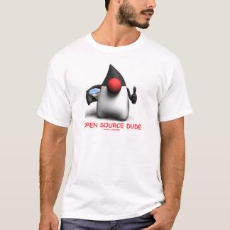 開けて下さい源の男(ソフトウェア開発者公爵)を Tシャツ