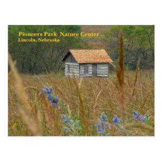開拓者は自然中心のリンカーン、NE #8nを駐車します ポストカード