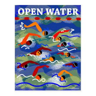 開放水域の水泳 ポストカード