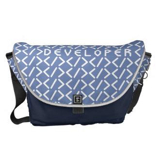 開発者/大きいメッセンジャーバッグの外プリント メッセンジャーバッグ