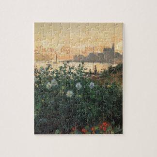 開花した川岸 ジグソーパズル