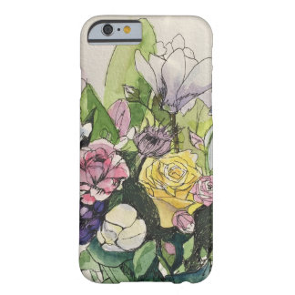 開花した皮 BARELY THERE iPhone 6 ケース