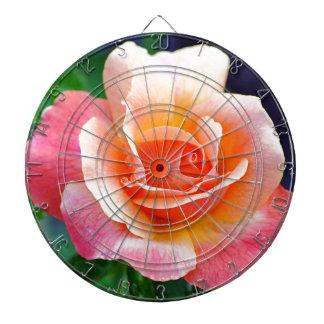 開花のばら色を完成して下さい ダーツボード