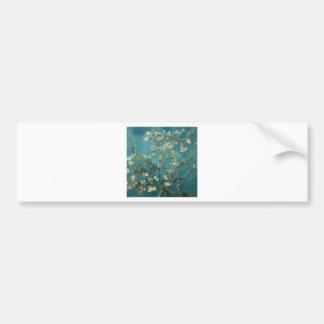 開花のゴッホのアーモンドの枝 バンパーステッカー