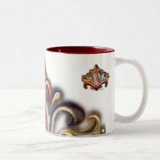 開花のマグ ツートーンマグカップ