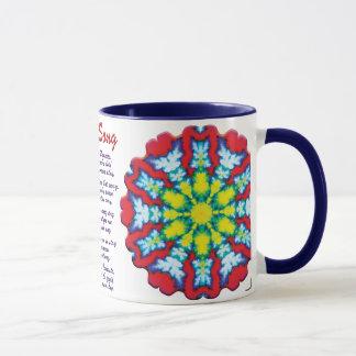 開花のヨガの歌 マグカップ
