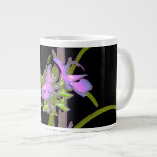開花のローズマリー ジャンボコーヒーマグカップ