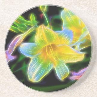 開花のワスレグサ コースター