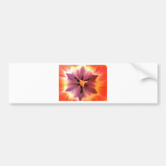 開花の元のデジタル芸術のシャクヤクはポスターを印刷しました バンパーステッカー