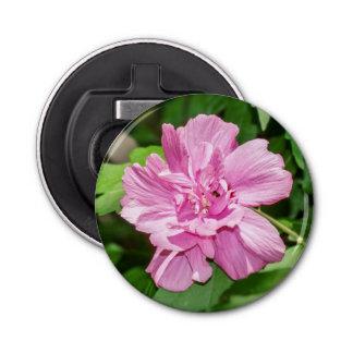 開花の磁石によって支持される栓抜きムクゲ 栓抜き