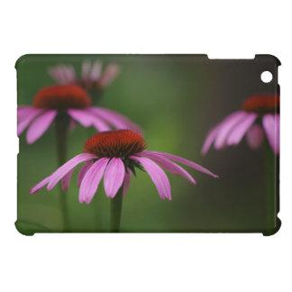 開花の紫色のConeflowers iPad Miniカバー