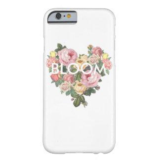 開花の花のハートの電話箱 BARELY THERE iPhone 6 ケース
