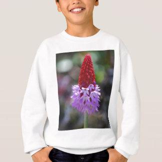 開花の野生の花 スウェットシャツ