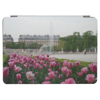 開花のTuileriesの庭 iPad Air カバー
