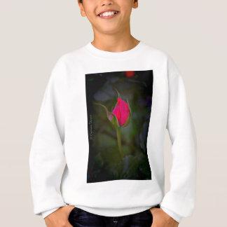 開花は上がりました スウェットシャツ