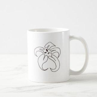 開花 コーヒーマグカップ