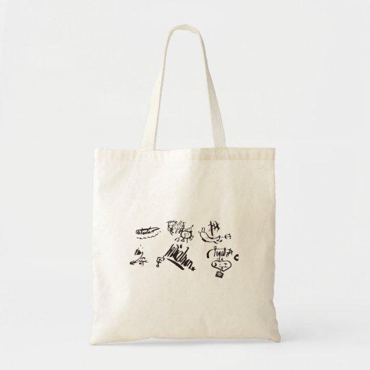 【開運トートバック】歴史上最も有名な悪魔のサインTシャツ トートバッグ