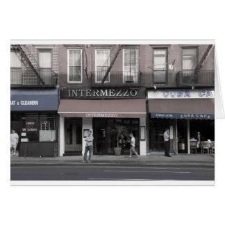 間奏曲-チェルシー、NYC カード