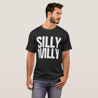 間抜けなウイリーのDillyのDillyのミームのカスタマイズ可能なティー Tシャツ